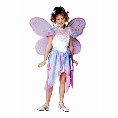 RG Costumes 91248-M Butterfly Fairy Girl Costume - Size Child-Medium Perspective: front