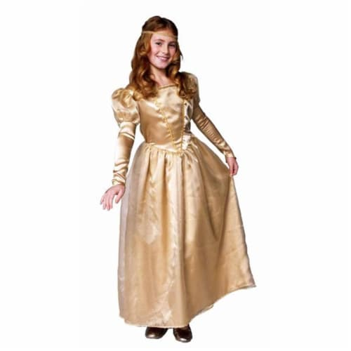 RG Costumes 91256-M Fantasy Queen Costume - Size Child-Medium Perspective: front
