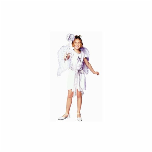 RG Costumes 91306-M Swan Angel Costume - Dress Only - Size  Child-Medium Perspective: front