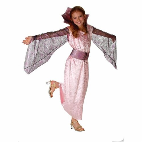 RG Costumes 91310-M Victorian Pink Spider Girl Costume - Size Child-Medium Perspective: front