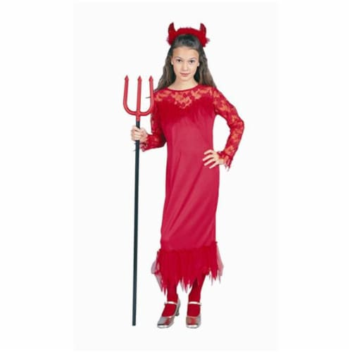 RG Costumes 91312-M Devilinna Gown Costume - Size Child-Medium Perspective: front