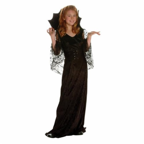 RG Costumes 91334-M Darkness Girl Costume - Size Child-Medium Perspective: front