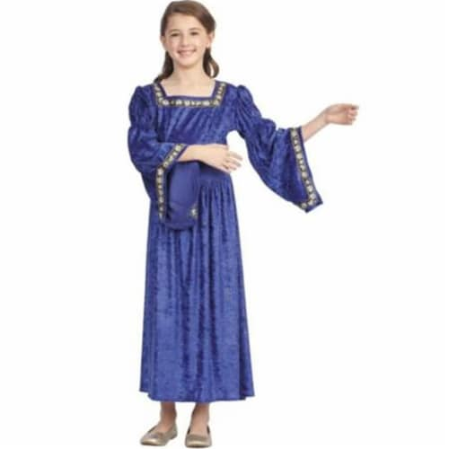 RG Costumes 91388-M Renaissance Bell Child Medium - Blue Perspective: front