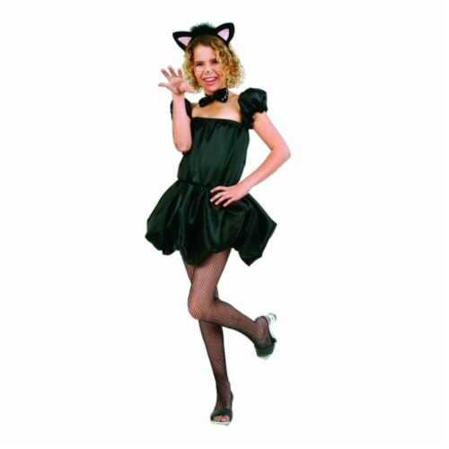 RG Costumes 91413-M Cute Kitty Girl Costume - Size Child-Medium Perspective: front