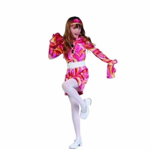 RG Costumes 91478-M Go-Go Girl Costume - Size Child Medium 8-10 Perspective: front