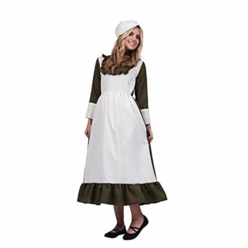 RG Costumes 81366-M81366-M Emeline Colonial Peasant, Medium Perspective: front