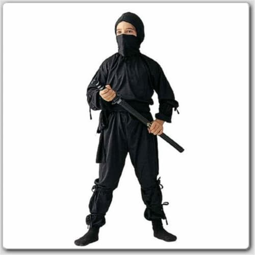 RG Costumes 19040-S Ninja Costume - Size Child-Small Perspective: front