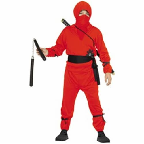 Rg Costumes 29039-S Ninja Boy Child Costume - Red, Small Perspective: front