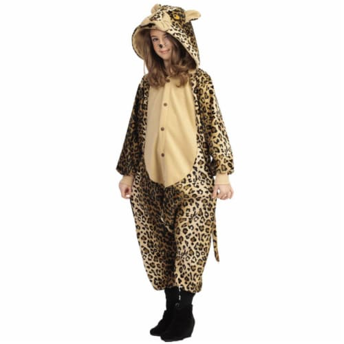 RG Costumes 40173 Large Lux The Leopard Child Costume Perspective: front