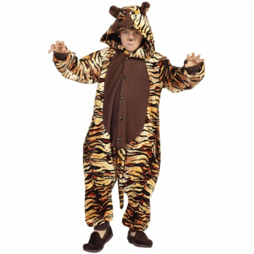 RG Costumes 40174 Large Taylor The Tiger Child Costume Perspective: front