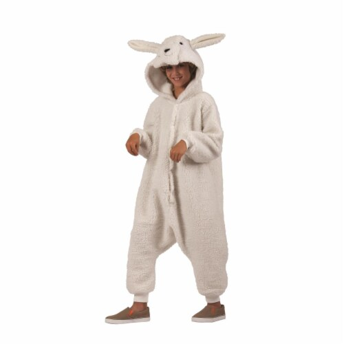 RG Costumes 40185 Ba Ba Lamb Child  Costume  White - Large Perspective: front