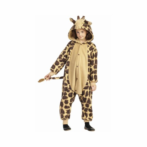 RG Costumes 40205 Medium Georgie The Giraffe Child Costume Perspective: front