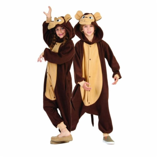 Rg Costumes 40220 Morgan the Monkey  Child Costume - Camel Brown  Medium Perspective: front