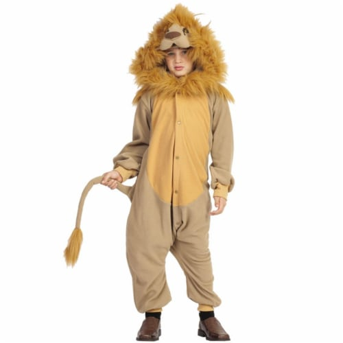 RG Costumes 40251 Medium Lee The Lion Child Costume Perspective: front