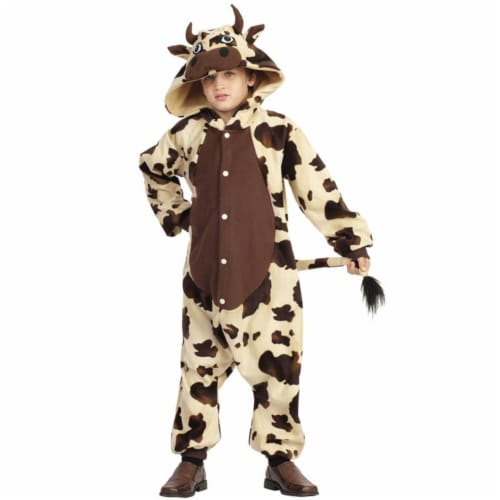RG Costumes 40324 Small Brown Cow Child Costume Perspective: front