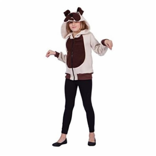 RG Costumes 40542-L Butch Bulldog Child Hoodie Costume - Large Perspective: front