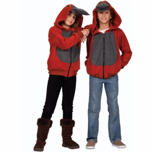 Rg Costumes 40538-M Patty the Platypus Child Hoodie Costume - Medium Perspective: front