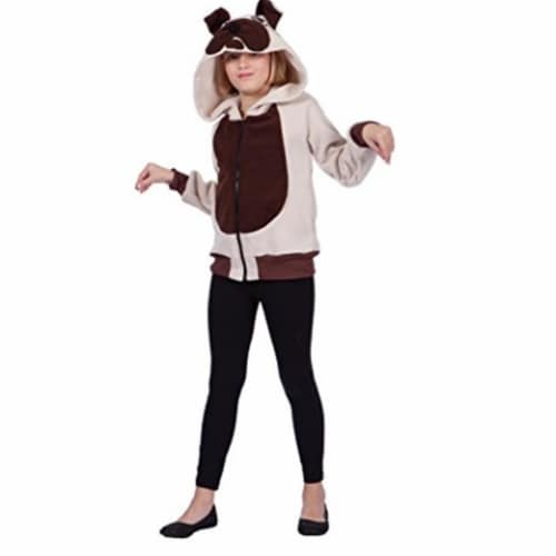 RG Costumes 40542-M Butch Bulldog Hoodie Child Medium Perspective: front