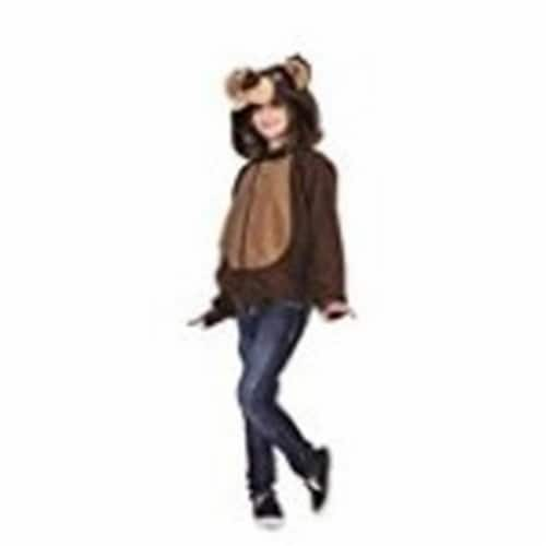 RG Costumes 40575-M Bailey Bear Chid Hoodie Costume, Medium - Brown Perspective: front