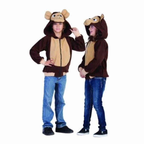 Rg Costumes 40520-S Morgan the Monkey Hoodie Child Costume - Small Perspective: front
