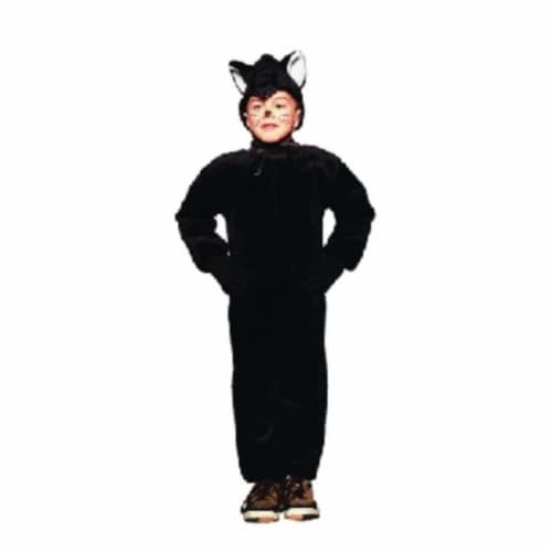 RG Costumes 70072-T Black Cat Costume - Size Toddler Perspective: front