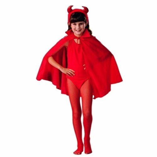 RG Costumes 75007 Child Costume Cape - Red - 27 Inches Perspective: front