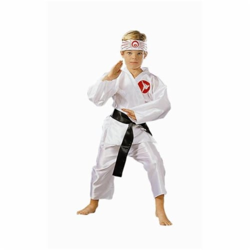 RG Costumes 90007-L Karate Boy Costume - Size Child-Large Perspective: front