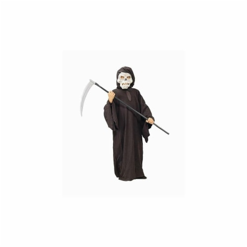 RG Costumes 90032-L Grim Reaper Boy Costume - Size Child-Large Perspective: front