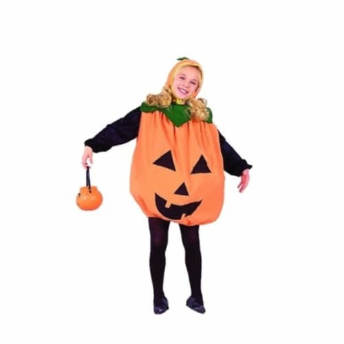 RG Costumes 90043-L Pumpkin Costume - Size Child Large 12-14 Perspective: front