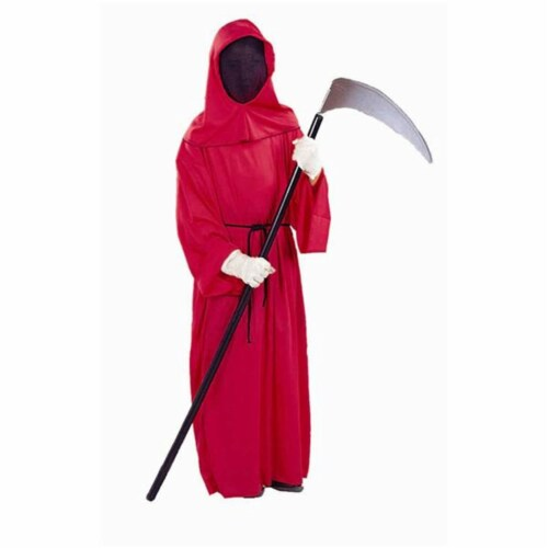 RG Costumes 90106-L Master Of Fire Red Costume - Size Child-Large Perspective: front