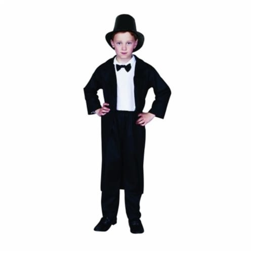 RG Costumes 90137-L Abraham Lincoln Costume - Size Child Large 12-14 Perspective: front