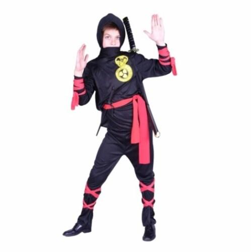 RG Costumes 90140-L Cobra Ninja Costume - Size Child Large 12-14 Perspective: front