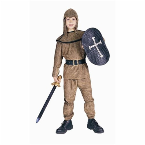 RG Costumes 90148-L Gold King Arthur Costume - Size Child-Large Perspective: front