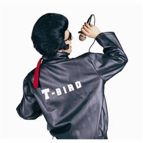RG Costumes 90153-L T-Bird Satin Jacket Costume - Size Child-Large Perspective: front