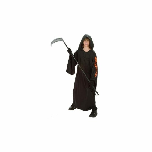 RG Costumes 90179-M Flame Warrior Glow Costume - Size Child-Medium Perspective: front