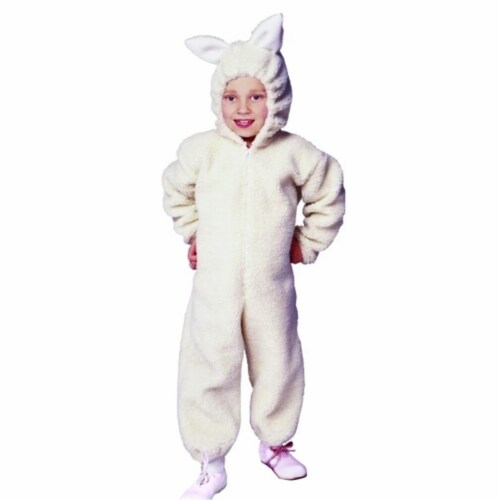 RG Costumes 90185-L Ba Ba Lamb Costume - Size Child Large 12-14 Perspective: front