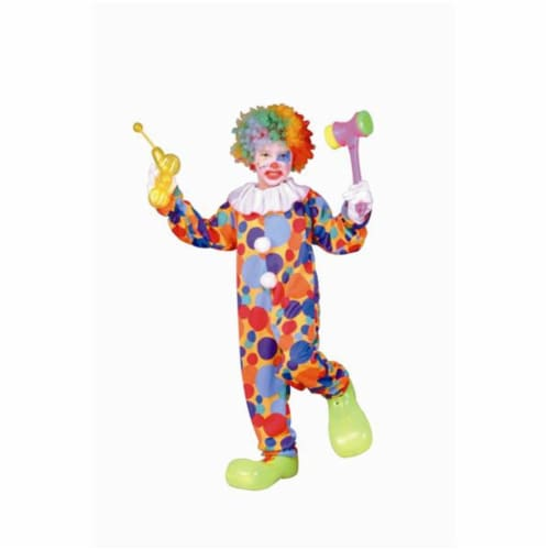 RG Costumes 90202-L Polka Dots Clown Costume - Size Child-Large Perspective: front