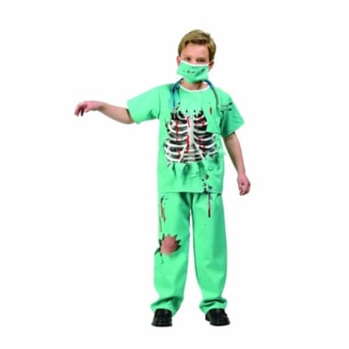 RG Costumes 90261-L Scary ER Doctor - Size Child Large 12-14 Perspective: front