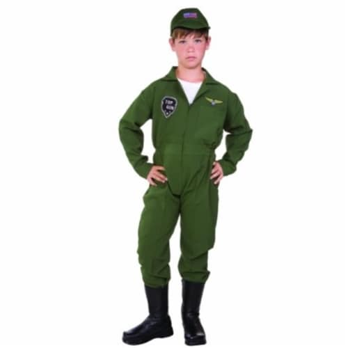 RG Costumes 90263-L Top Gun Child Costume - Size L Perspective: front