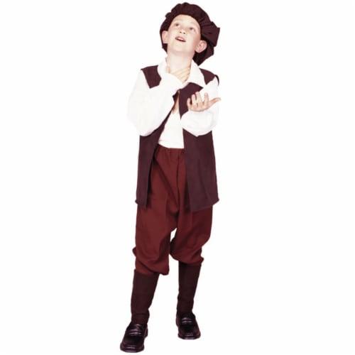 RG Costumes 90313-L Large Renaissance Boy Vest Perspective: front