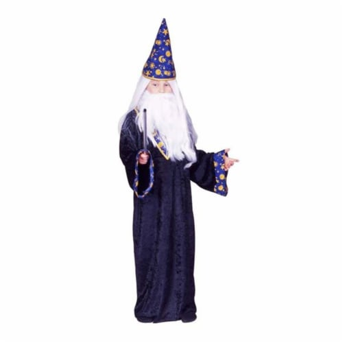 RG Costumes 90323-L Black Magic Wizard Boy Costume - Size Child-Large Perspective: front