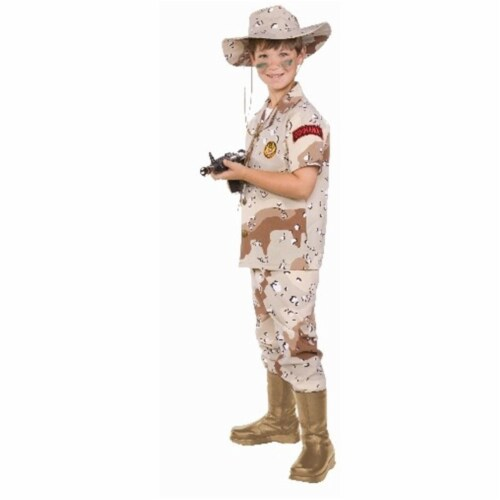 RG Costumes 90362-L Desert Hero Child Costume - Size L Perspective: front