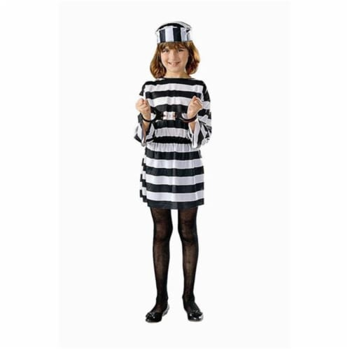 RG Costumes 91026-S Convict Girl Costume - Size Child-Small Perspective: front