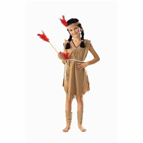 RG Costumes 91042-L Native American Princess Costume - Size Child-Large Perspective: front