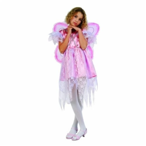 RG Costumes 91051-L Pink Fairy Costume - Size Child Large 12-14 Perspective: front