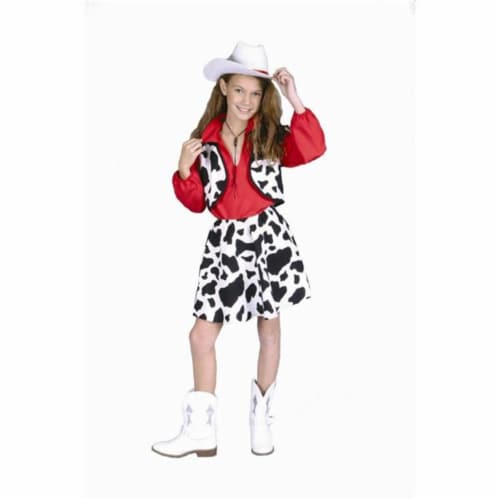 RG Costumes 91059-L Cowgirl Costume - Size Child-Large Perspective: front
