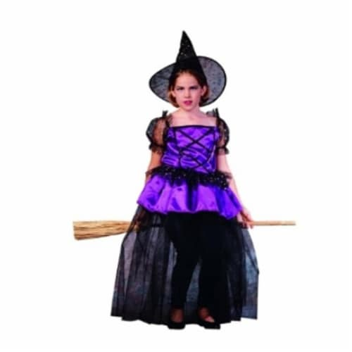 RG Costumes 91117-L Sabrina Pretty Witch Costume - Size Child Large Perspective: front