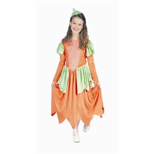 RG Costumes 91143-L Pumpkin Princess Costume - Size Child-Large Perspective: front