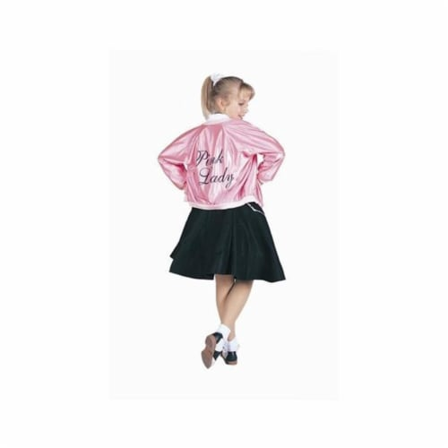 RG Costumes 91151-L Pink Lady Jacket Costume - Size Child-Large Perspective: front