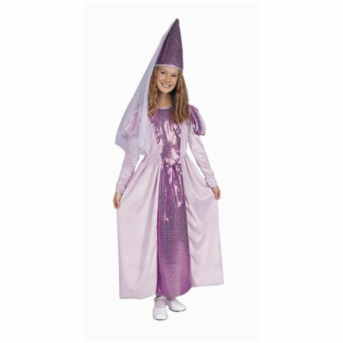 RG Costumes 91166-L Lavender Princess Costume - Size Child-Large Perspective: front